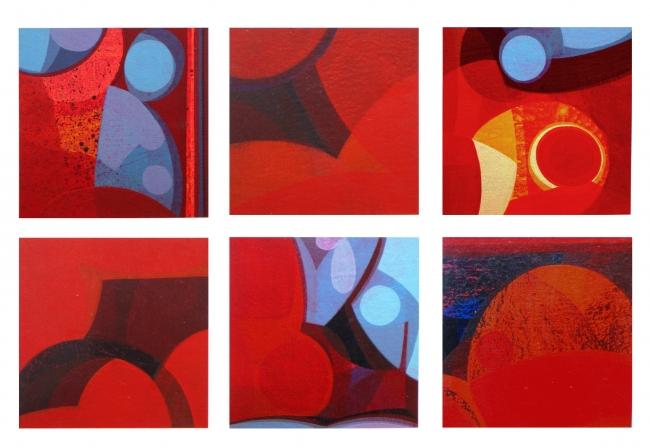 PABLO CANDAL-Colores utópicos 10 - Pinturas De Varios Artistas