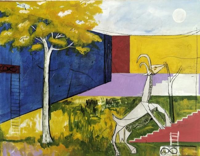 Picasso, árboles y mi ciudad
