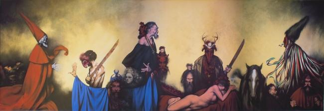 El tastoan y la niña de Jerez - Rafael Coronel