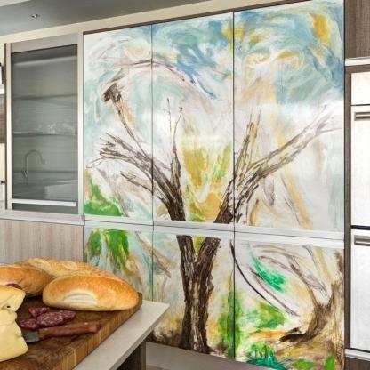 Arte en cocina