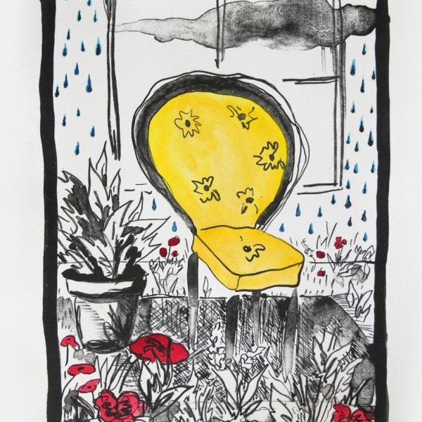 Pluvian - Silla amarilla