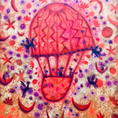 El gran globo y los pegasos