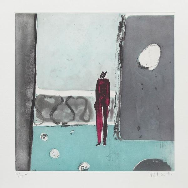 Mujer el el balcón 6/40a