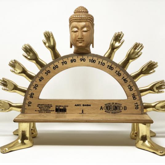 Buddha Protractor