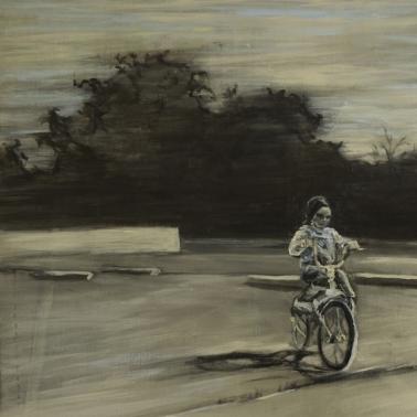 Paisaje en bici