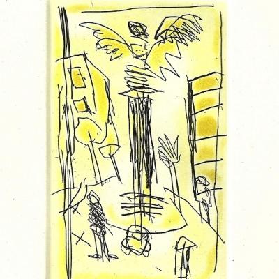 El ángel Mini gráfica