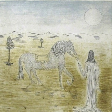 El caballo carnívoro
