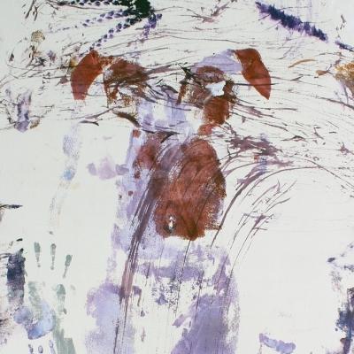 Virgen sobre lienzo II