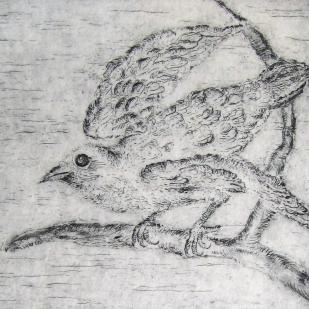 GEORGINA QUINTANA - Pájaro y tortuga