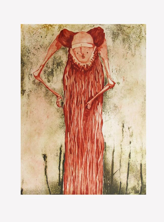 ESTÍBALIZ VALDIVIA - Dominape 2/20 - Varios Artistas En La Gráfica