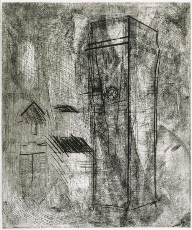 La torre de los grillos - Humberto Baca Gráfica