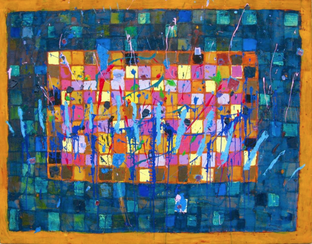 Teserac 4 azul - Javier Fernández