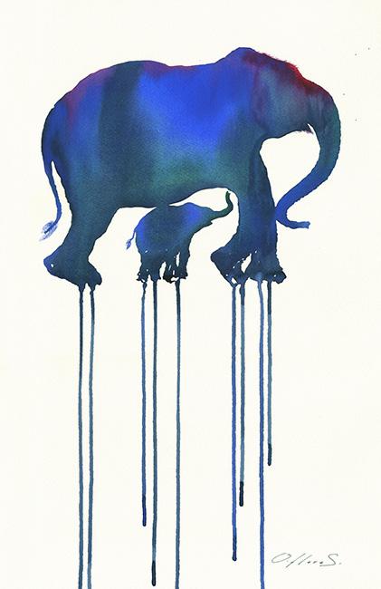 Elefantes - Oliver Flores