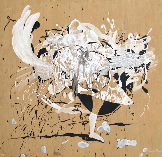 Danzando el águila - Salvador Luna