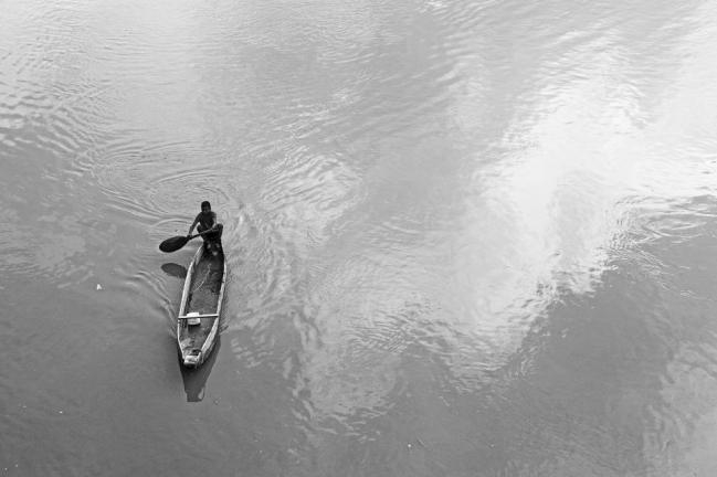 Crossing the river Magdalena. Precio según soporte y medidas