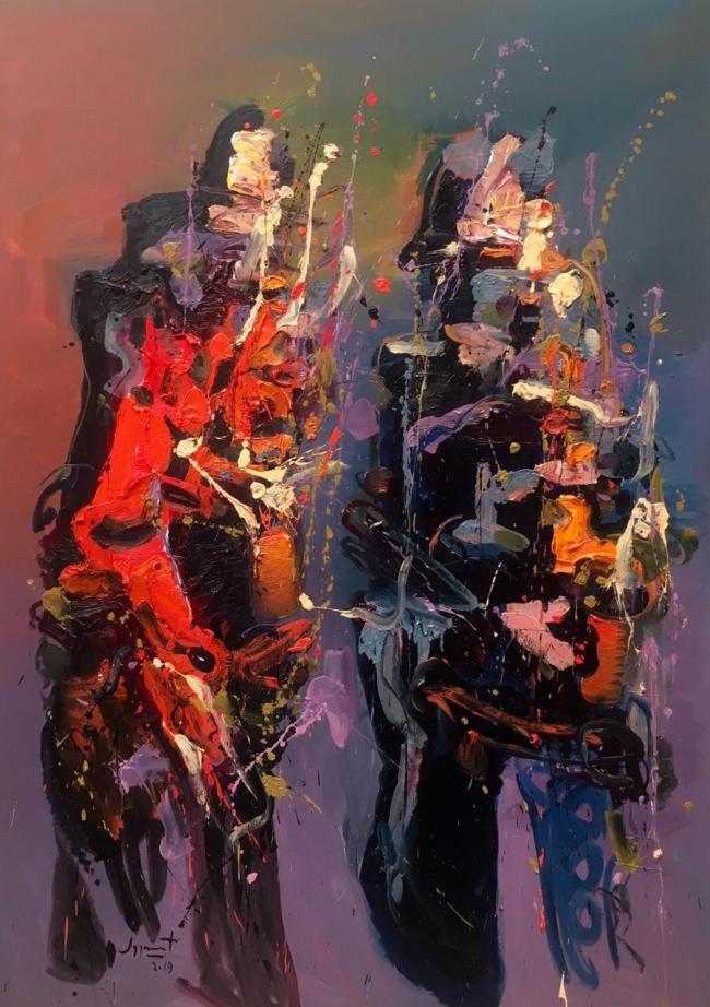 Chingue a su madre la pintura, viva la pintura II - Jazzamoart