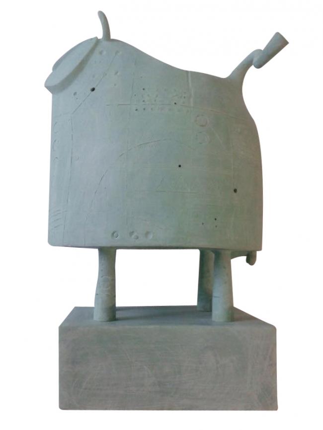 Toro verde - Juan Martinez Parente