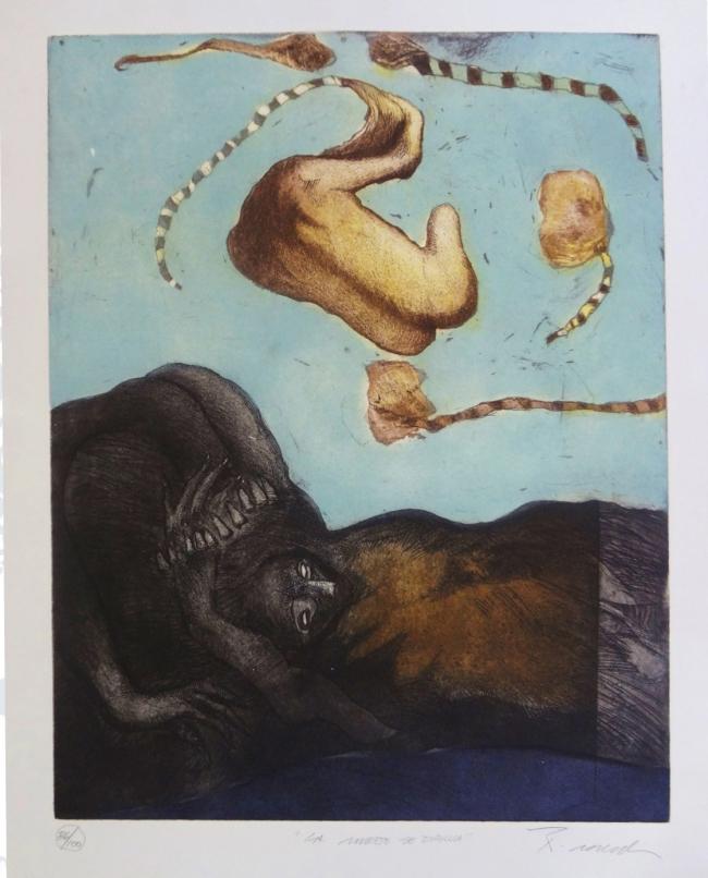 La muerte se dibuja - Rafael Zepeda