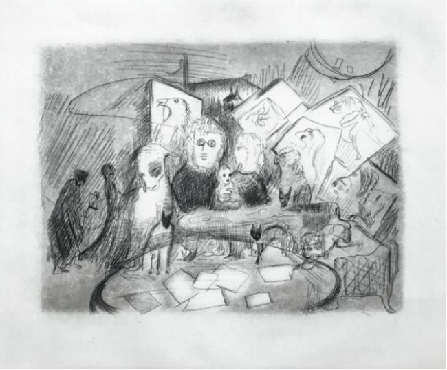AGOTADA-Firmando - Leonora Carrington