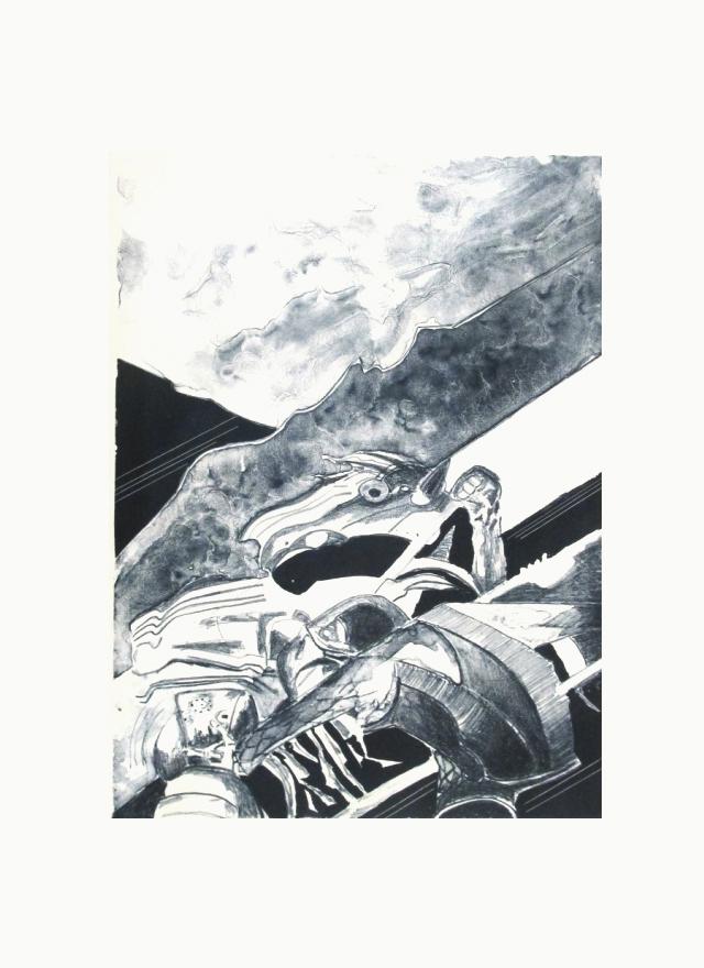 GONZALO GARCÍA - Sin título 43/60 blanco y negro