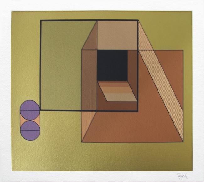 Geometría 8 - Manuel Felguerez