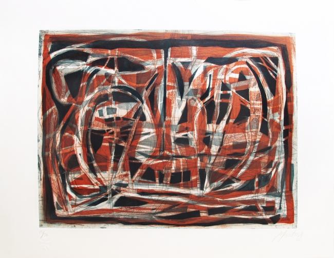 Paisaje (rojo) - Gabriel Macotela