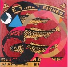 HÉCTOR FALCÓN extracción modular constructiva (black fishes) - Arte Contemporáneo