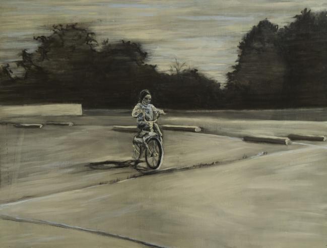 Paisaje en bici - Samia Farah