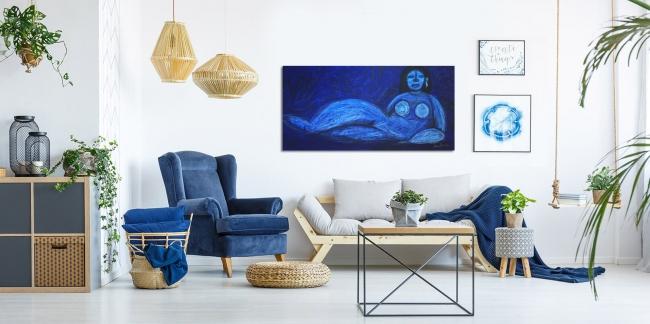 Ella es azul - Iván Barrera