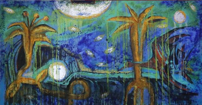Vuelo con lluvia - Rosendo Pérez Pinacho