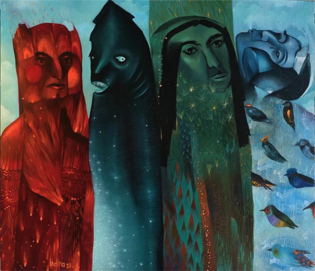 Cuatro elementos - Indira Castellón