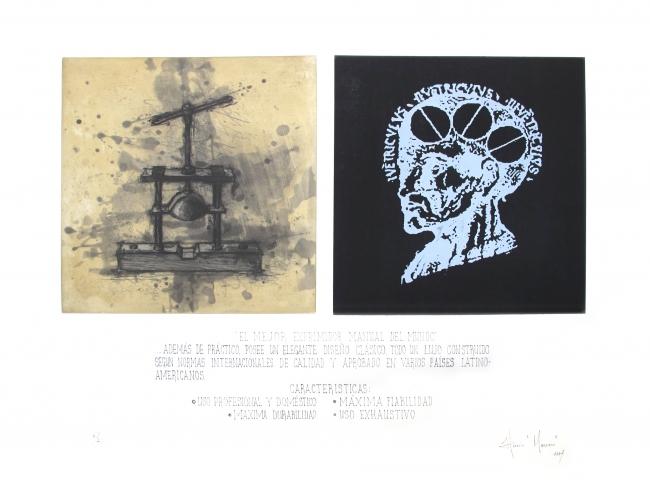 Horacio Manzano- El exprimidor PA - Varios Artistas En La Gráfica