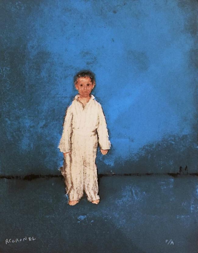 Niño azul - Rafael Coronel