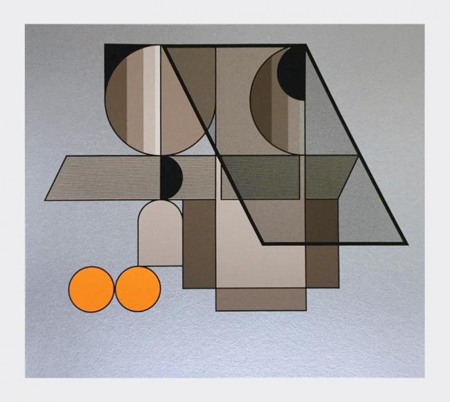 Geometría 22 - Manuel Felguerez