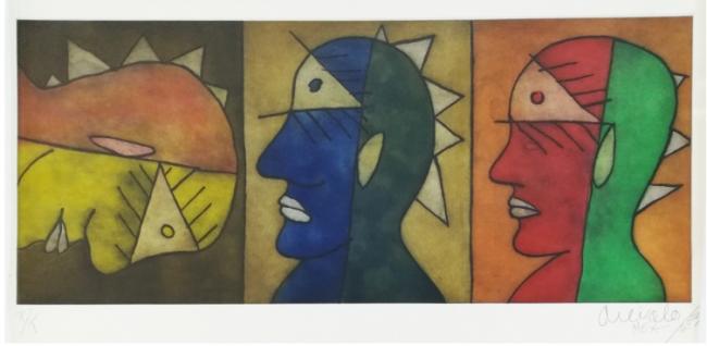 3 colores - Javier Arévalo