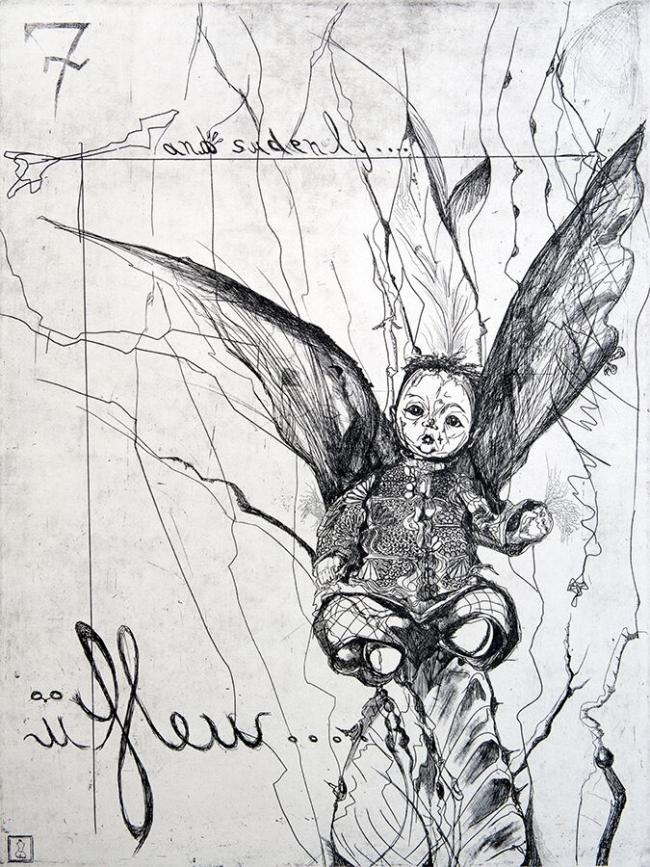 Leyre Montes- U flew - Varios Artistas En La Gráfica