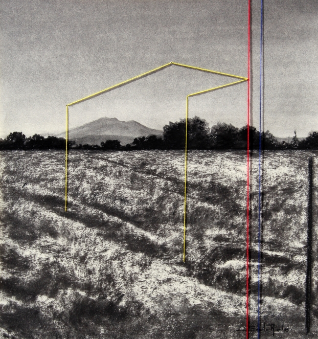 Construcción ilusoria sobre el paisaje