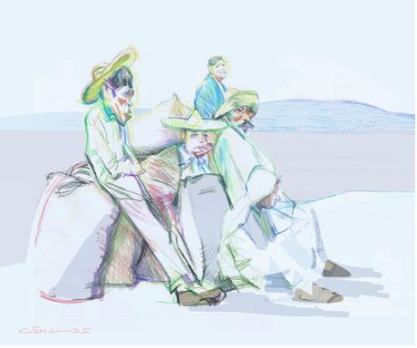 Esperando la barca - Mauricio Cárdenas