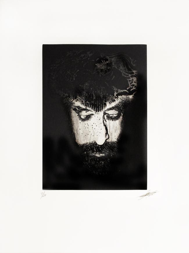 ALEJANDRO PÉREZ CRUZ - rostro 17/20 - Varios Artistas En La Gráfica