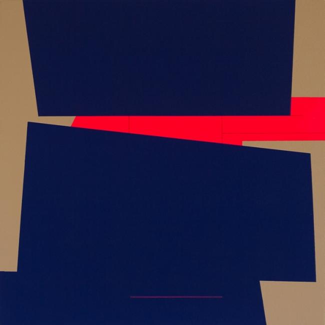 Blue orange line