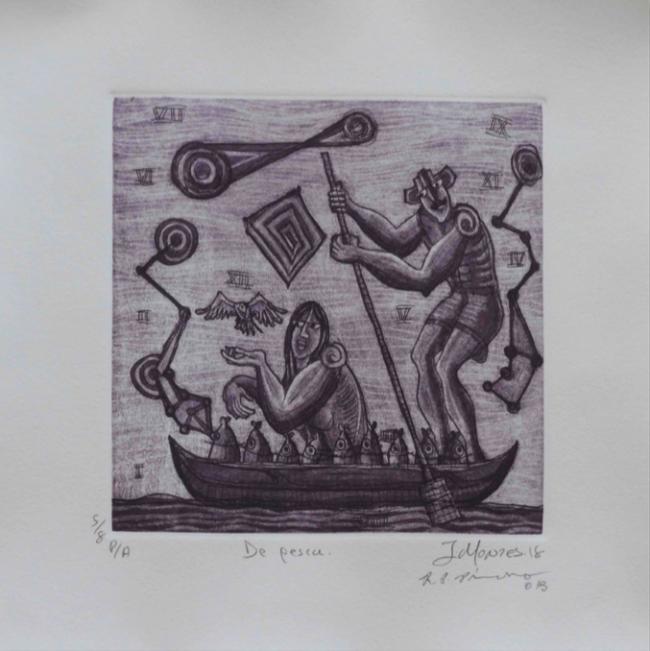 Ixrael Montes - Rosendo Pérez Pinacho - De pesca