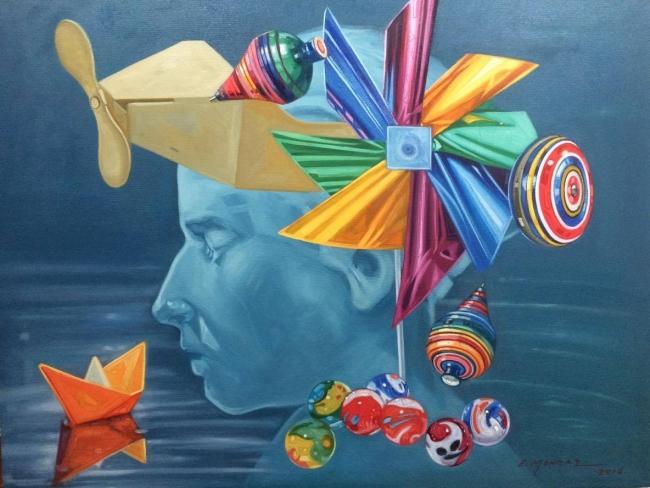 Enrique Monraz- Viaje a la fantasía