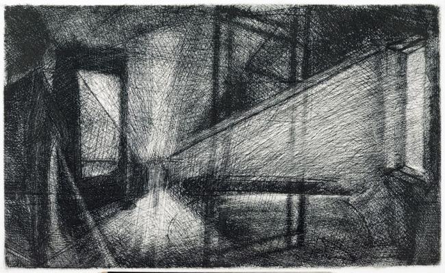 Interior con espejo