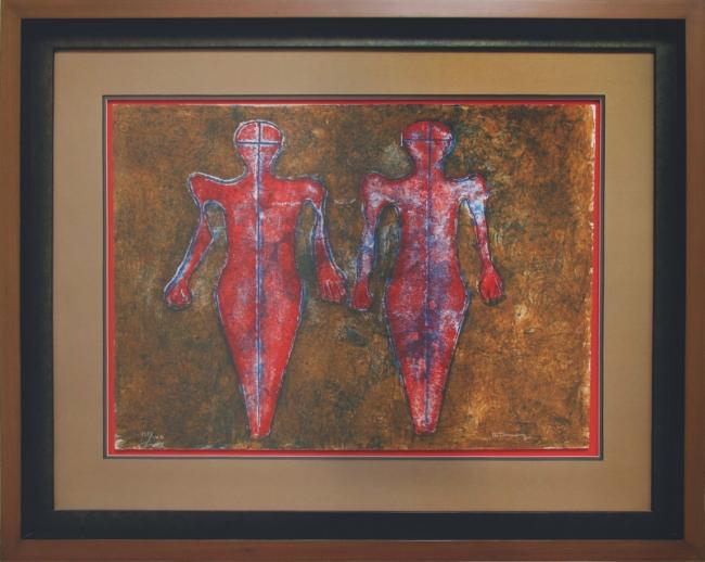 Dos figuras - Rufino Tamayo