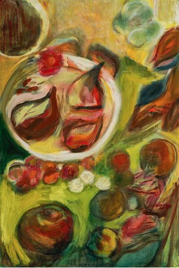 Composición con higos - Alicia Amador