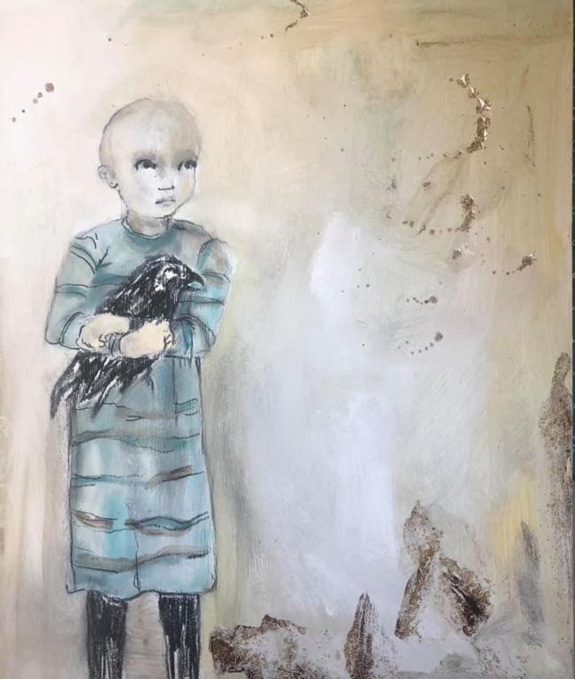 Cuervo niño grande - Luis Lara