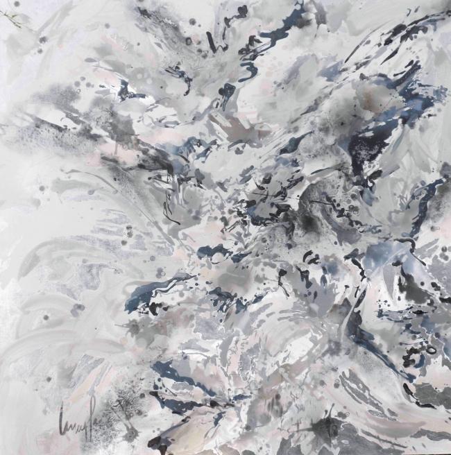 Fluye en grisalla II