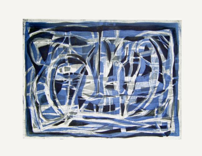 Paisaje (azul) 20/30 - Gabriel Macotela