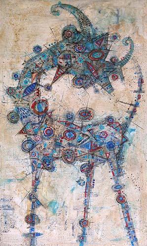 Cabra azul - Luis Lara
