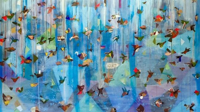Libre composición de aves